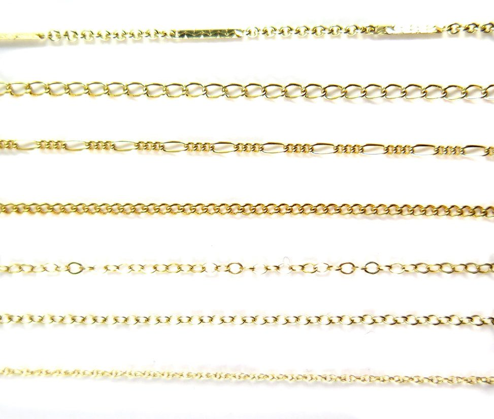 Dainty Gold Filled Chain For Customized Necklace Choker