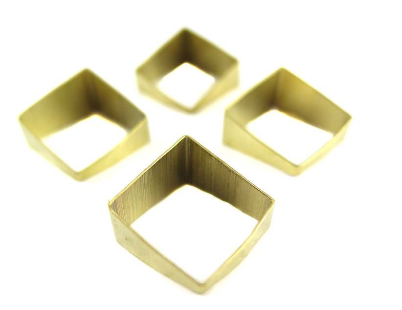 Tapered Square Tube Charms