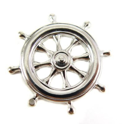 Rhodium Plated Steering Helm Pendants