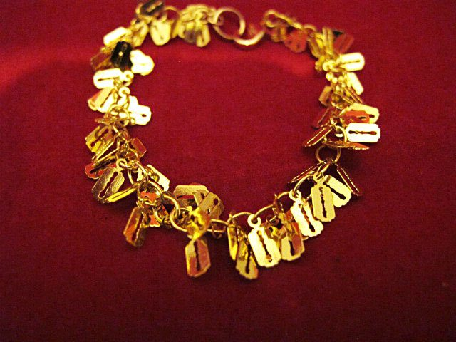 Charmed Chain Bracelet Gold Plated