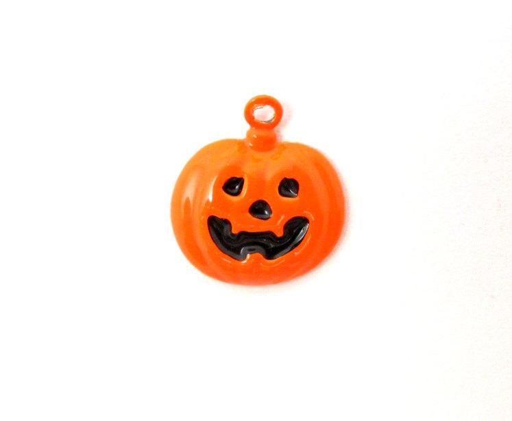 Enamel Pumpkin Charms