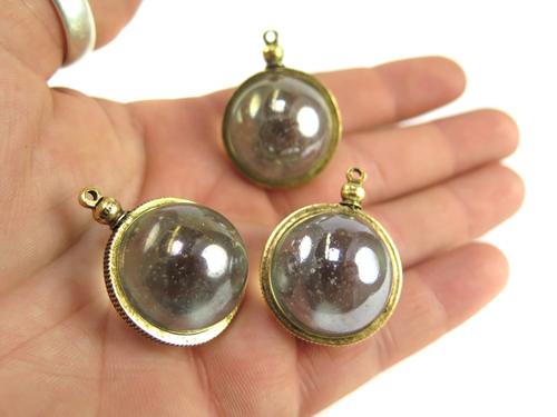 Antique gold plated faux coin holder pendants 4x v163 brooklyn antique gold plated faux coin holder pendants 4x v163 aloadofball Images