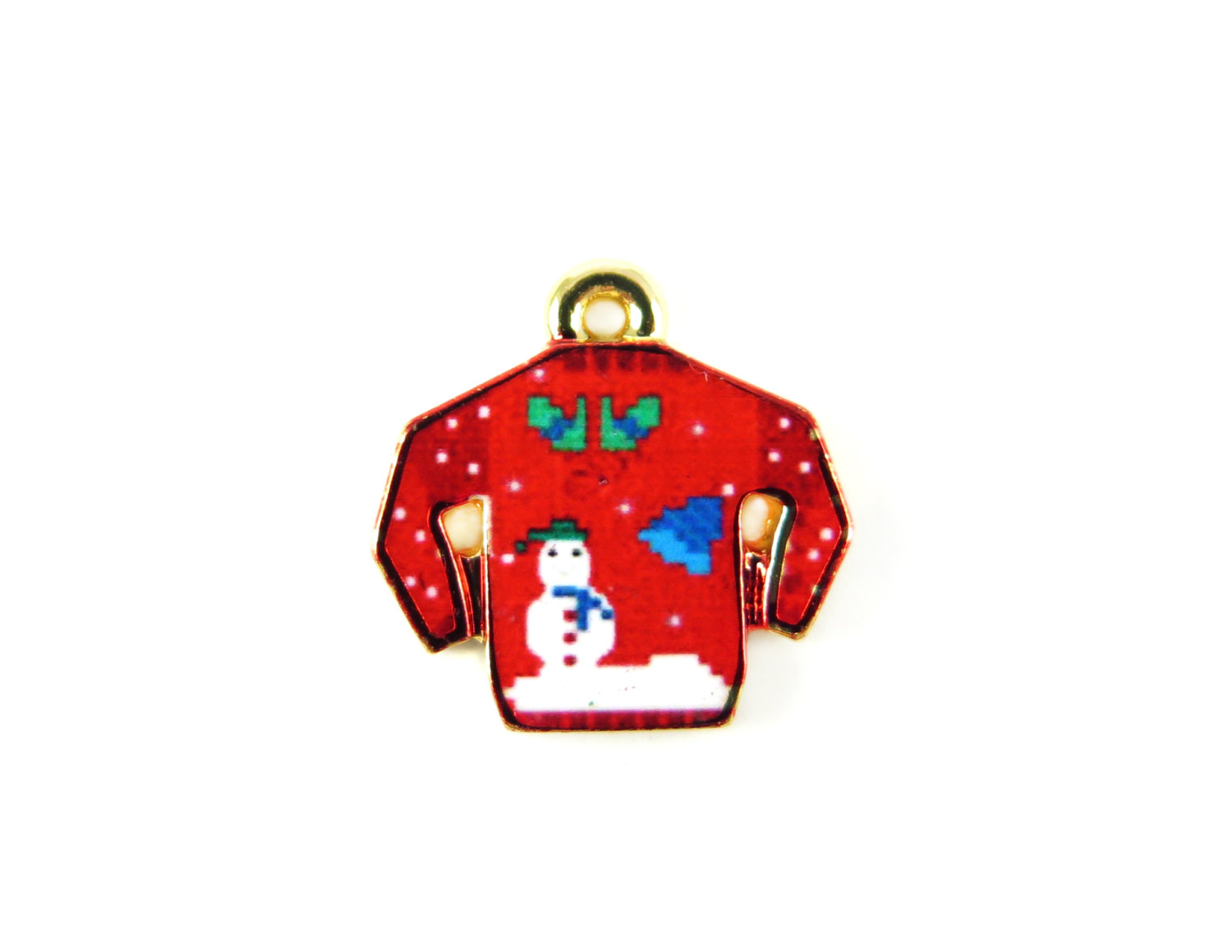 red ugly christmas sweater charms - Red Ugly Christmas Sweater
