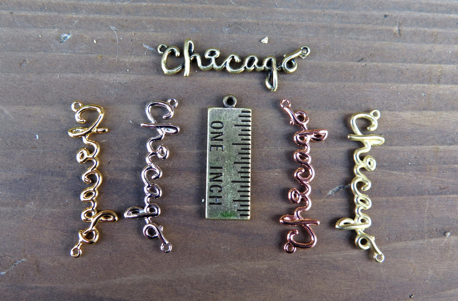 Rose gold plated chicago wire name pendant 1x k621 d brooklyn rose gold plated chicago wire name pendant 1x k621 d aloadofball Choice Image