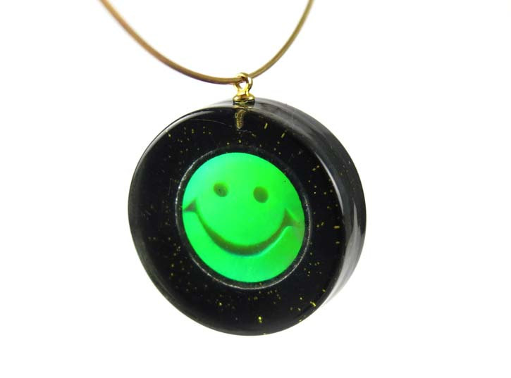 Smiley face hologram resin pendants brooklyn charm smiley face hologram resin pendants aloadofball