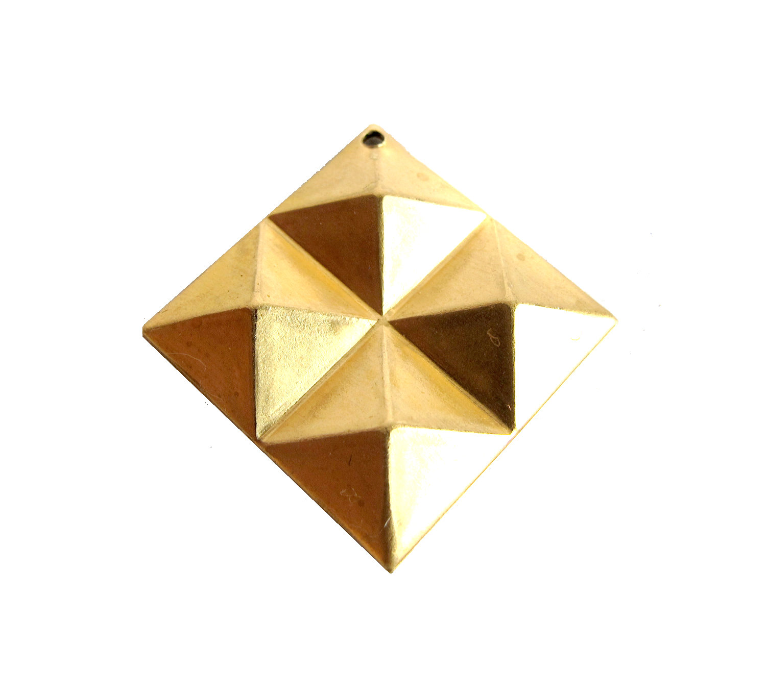 stud sara gunn gold massive earrings lge souvenir pyramid products