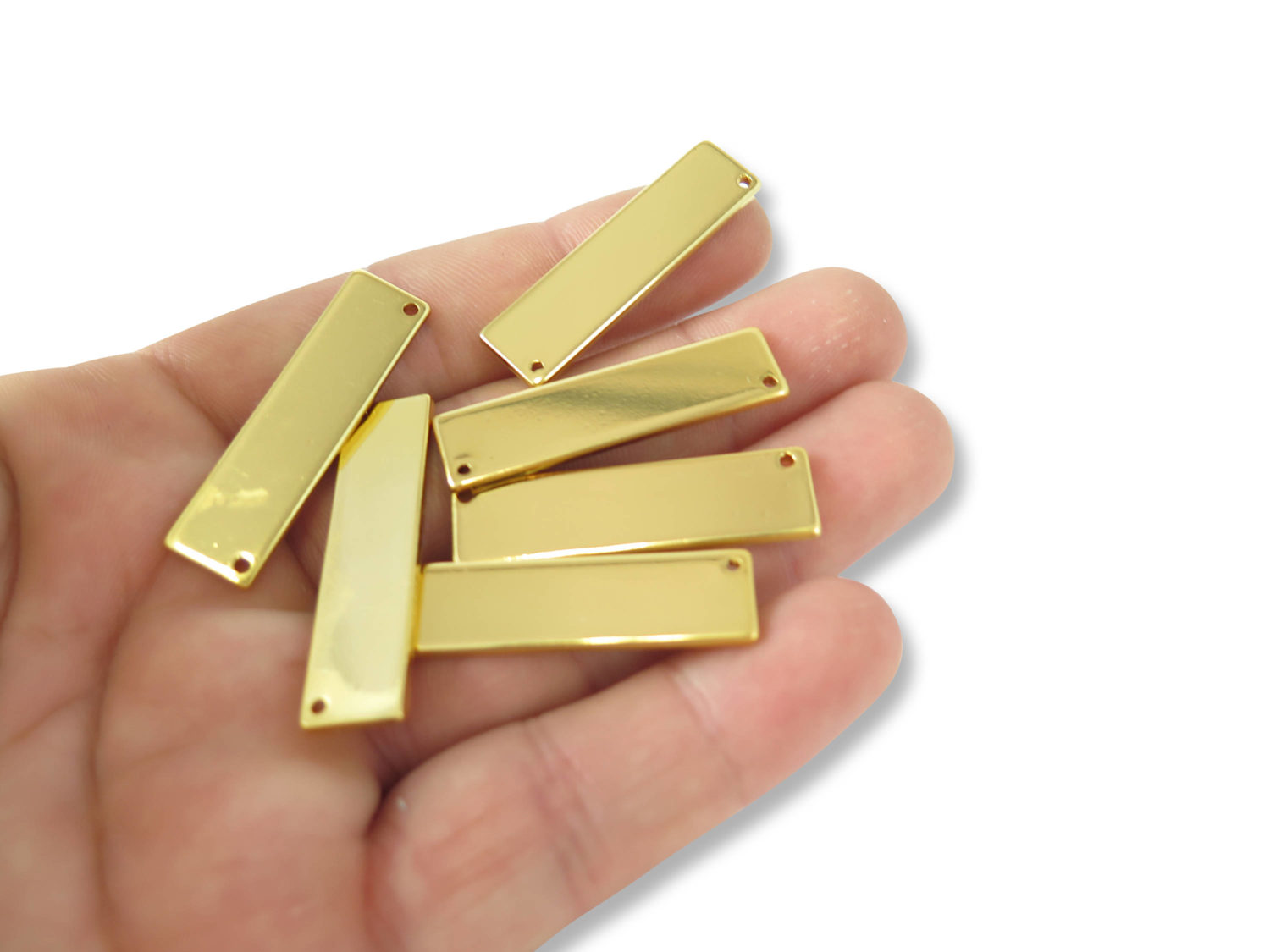Gold plated engraving rectangle bar pendants 4x k619 c gold plated engraving rectangle bar pendants 4x k619 c aloadofball Image collections