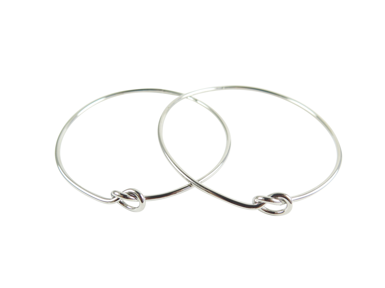 Wire Knot Bangle Bracelet - Brooklyn Charm