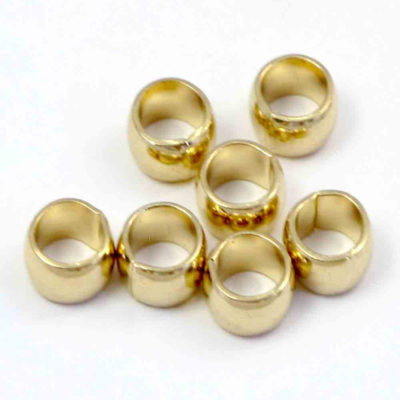 Vintage Gold Plated Rolo Ring Findings