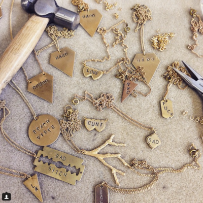 Engraved Charms & Pendants