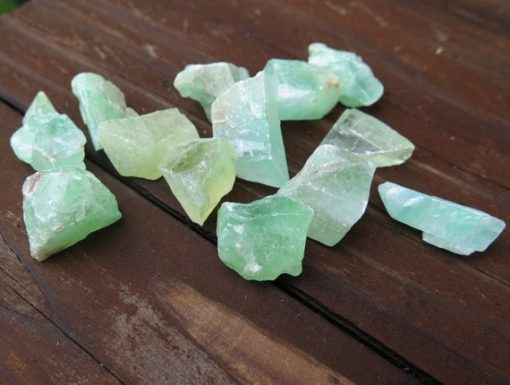 aqua calcite rocks
