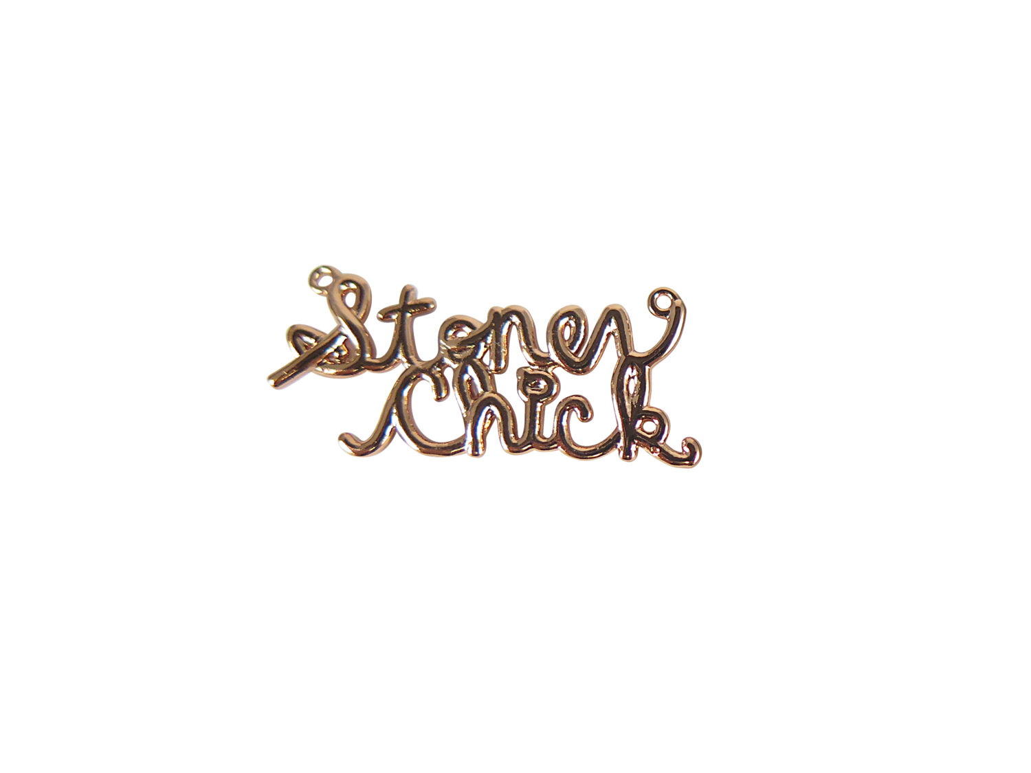 Stoner Chick Wire Name Plate Pendants