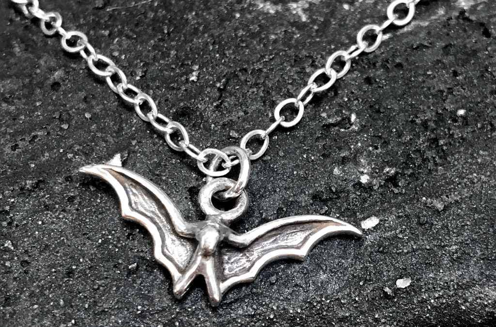 Just a Little Batty – Sterling Silver Bracelet or Necklace
