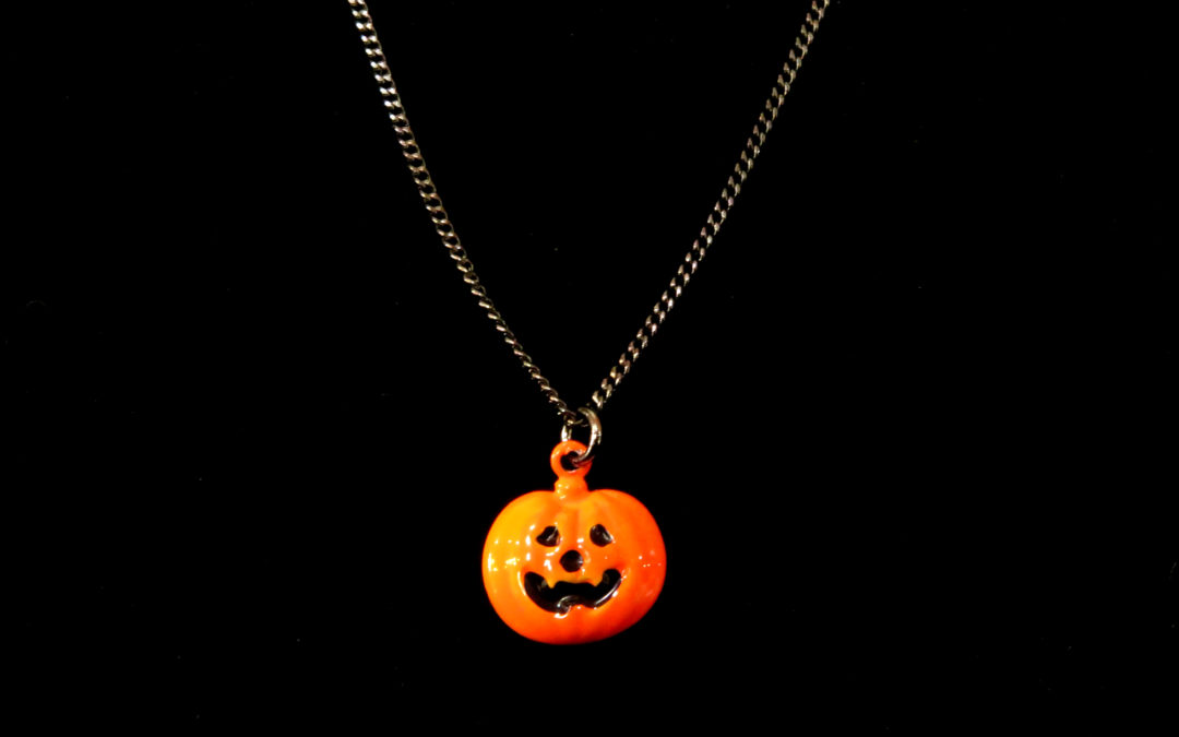 Tiny Jack O' Lantern – Necklace or Bracelet